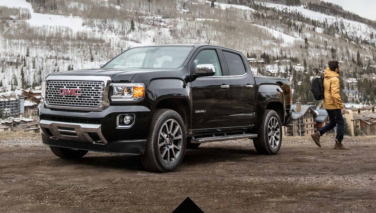 2018 Gmc Canyon Denali Small Pickup Truck