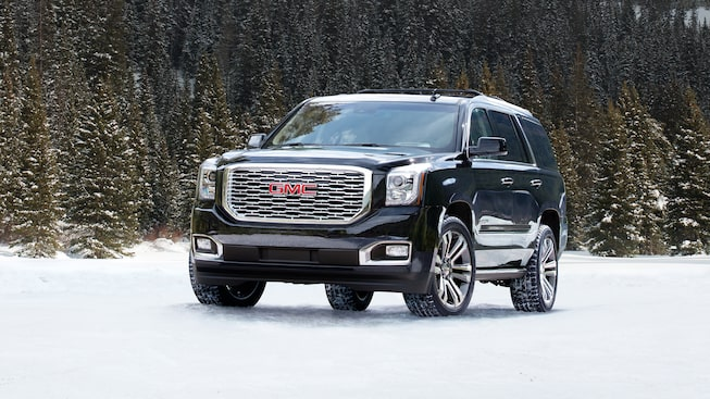 2018 GMC Yukon Denali luxury SUV.