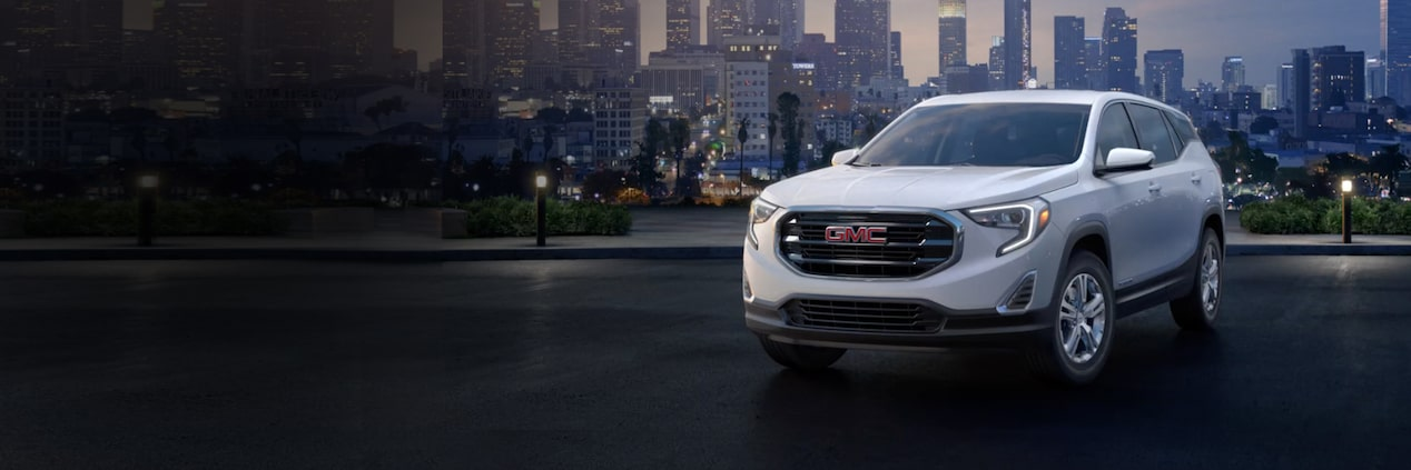 Qualified buyers can drive home the 2018 GMC Terrain SLE small SUV at 14% below MSRP when financing through GM Financial.