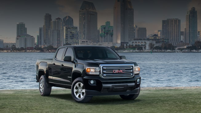 Get 10% below MSRP on 2018 GMC Canyon SLE models.