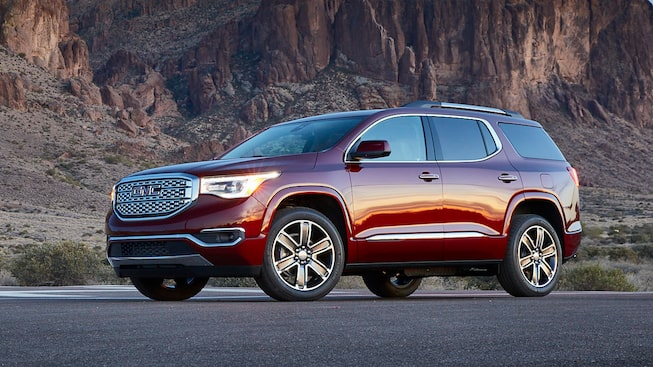 2019 GMC Acadia Mid-Size SUV Front Side Exterior