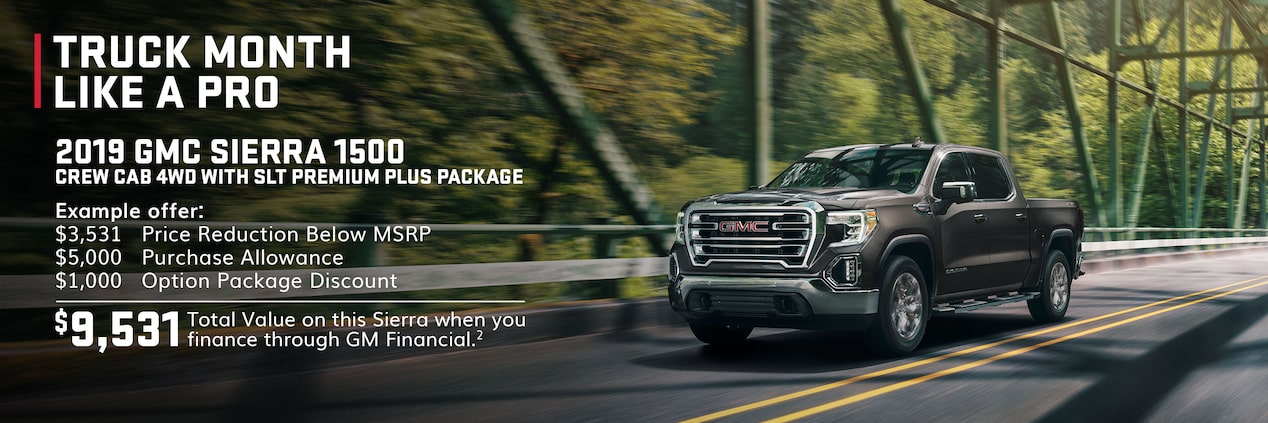 Truck Month Like A Pro: 2019 GMC Sierra 1500 Offers