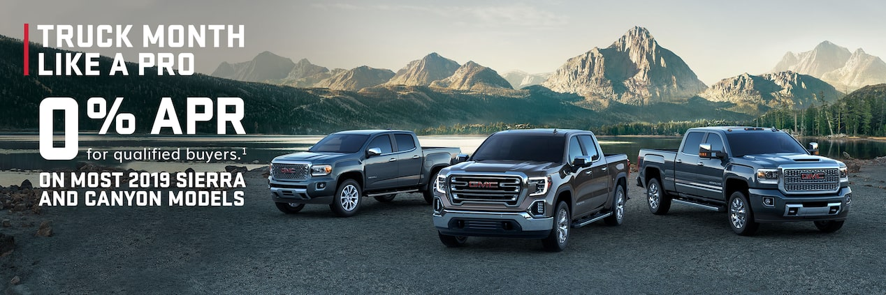 2019 GMC Trucks Lineup: Sierra, Sierra HD, Canyon