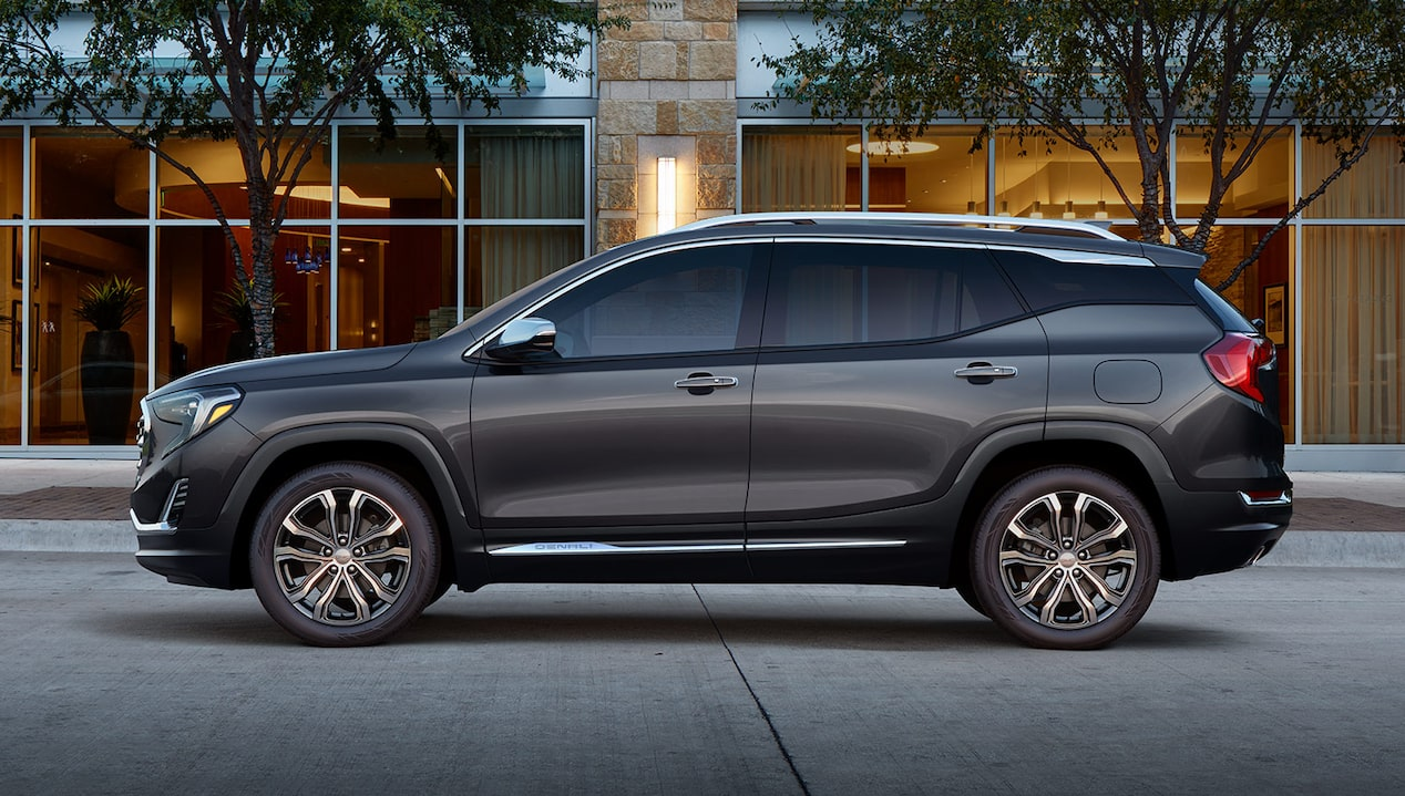 Homepage of the 2018 GMC Terrain.