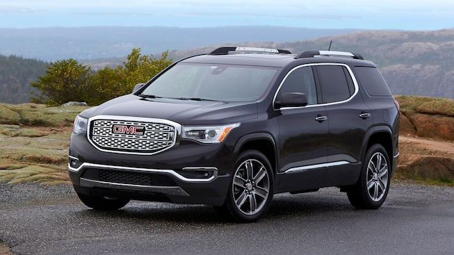 2019 GMC Acadia Denali Luxury Mid-Size SUV Front Side Exterior