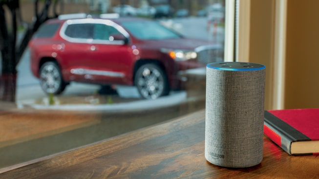 Learn More about Amazon Alexa and My GMC App