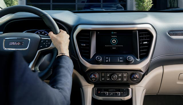 GMC VEHICLES NOW FEATURE ALEXA BUILT-IN
