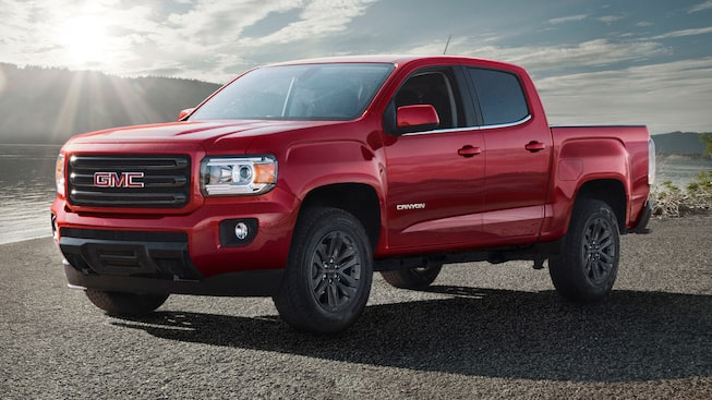 GMC Canyon Small Pickup Truck Elevation Edition in Valley