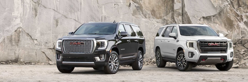 2021 GMC Yukon Trims Front Angle View