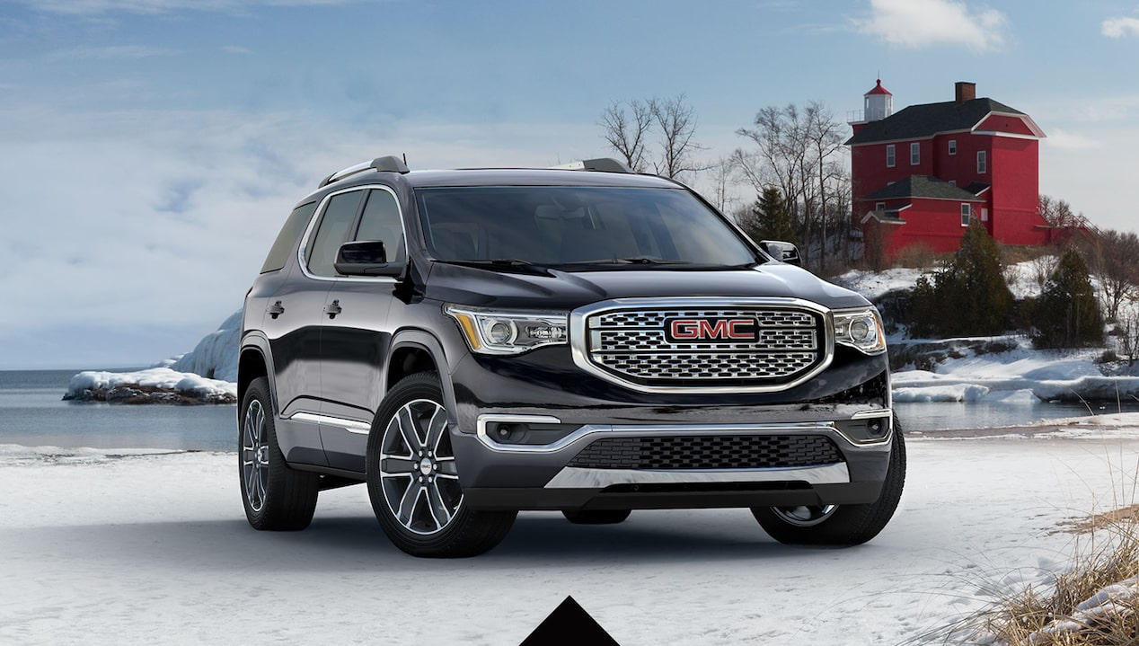 Get 15% below MSRP on most models of the 2018 GMC Acadia
