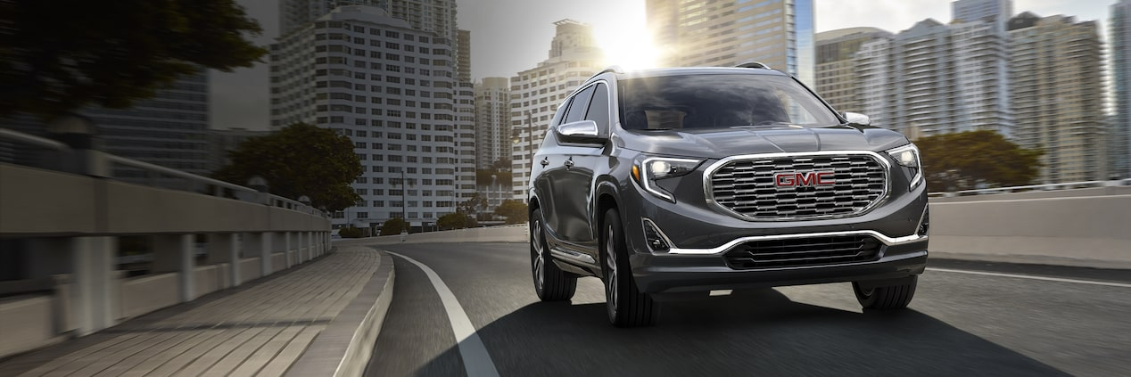 2018 GMC Terrain Denali small luxury SUV.