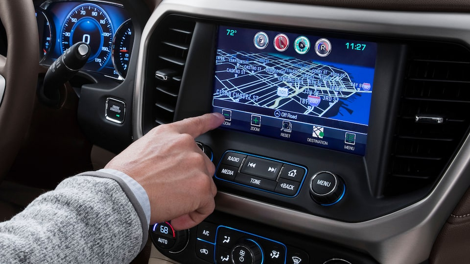 Entertainment and Connectivity: Infotainment system with navigation feature.