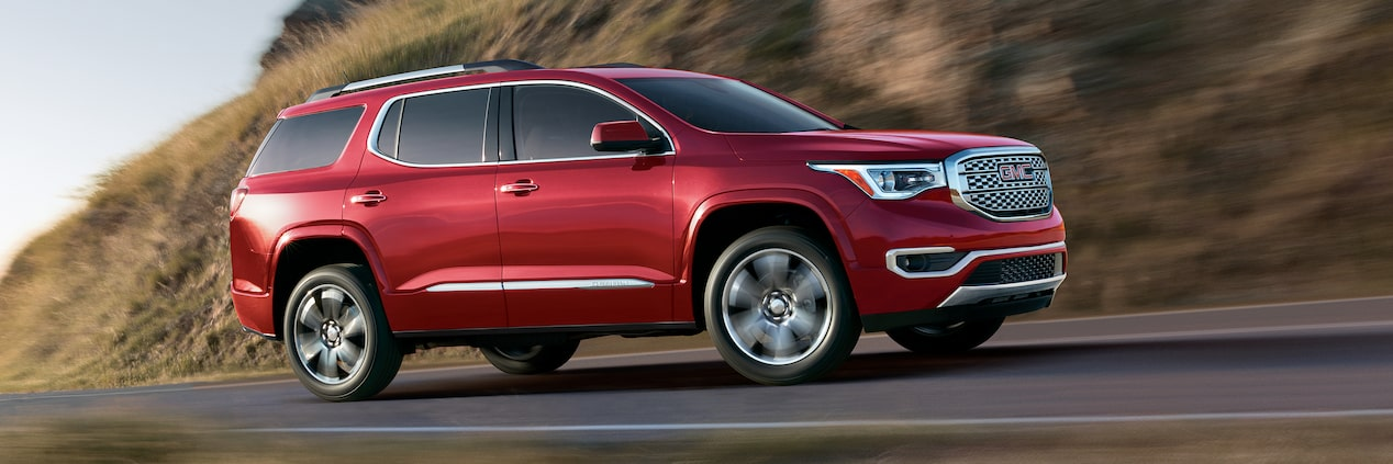 Introducing The New Gmc Acadia