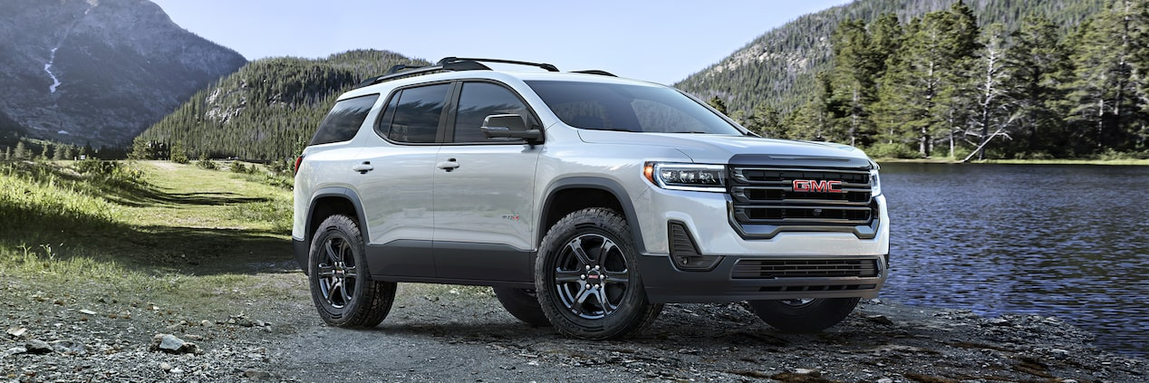 All-New 2020 GMC Acadia AT4 Mid-Size SUV Front Exterior