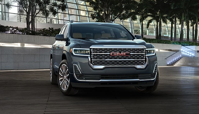 All-New 2020 GMC Acadia Mid-Size SUV Front Exterior