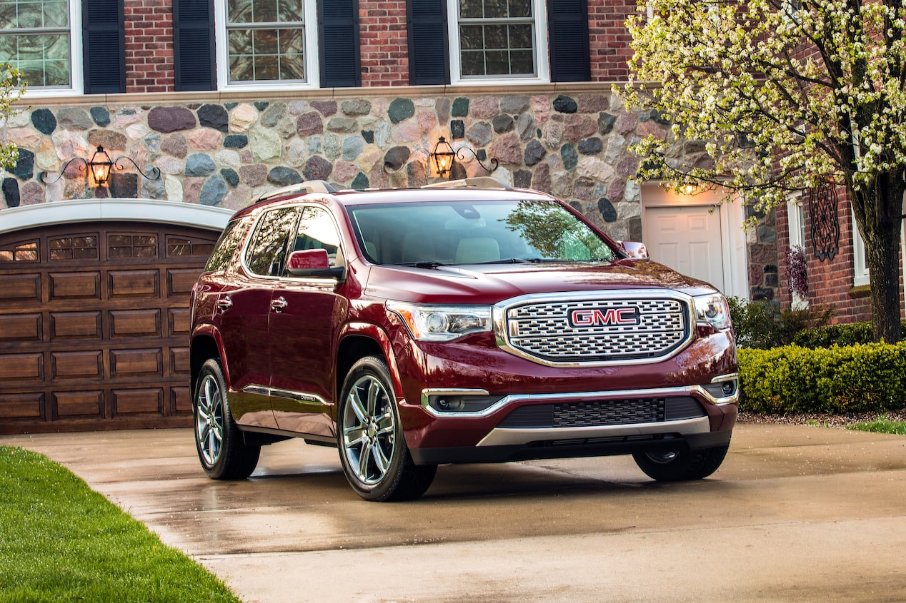 GMC life acadia rear seat reminder front home.