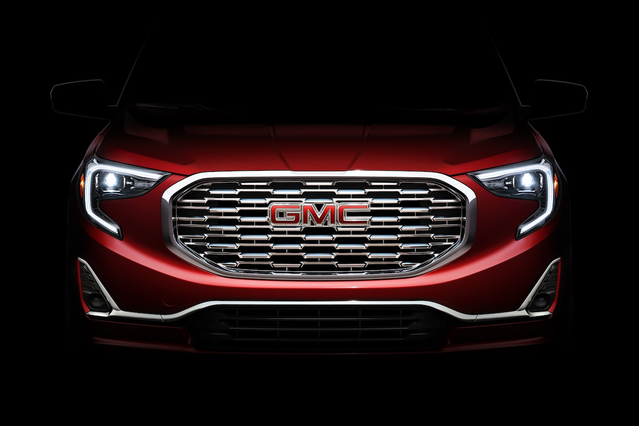 GMC life all new terrain grille.