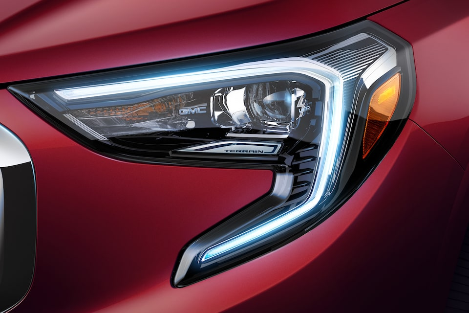 GMC life all new terrain LED lighting.