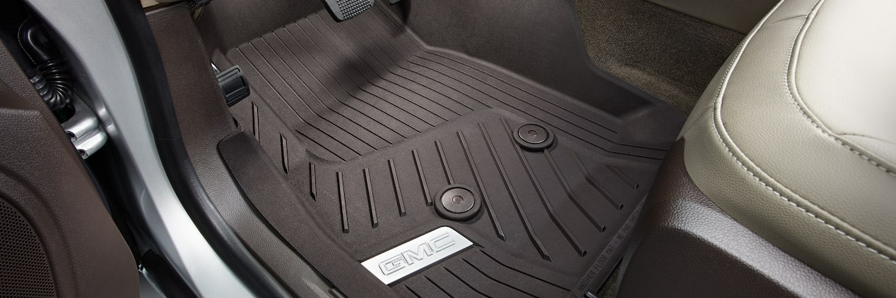GMC life all weather floor liners.