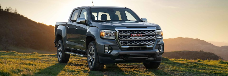 GMC Canyon Small Pickup Truck with Amazon Alexa Built In