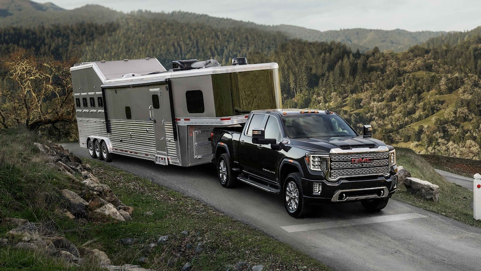 Take command of your RV's Smart home features with Smart trailer from GMC Sierra