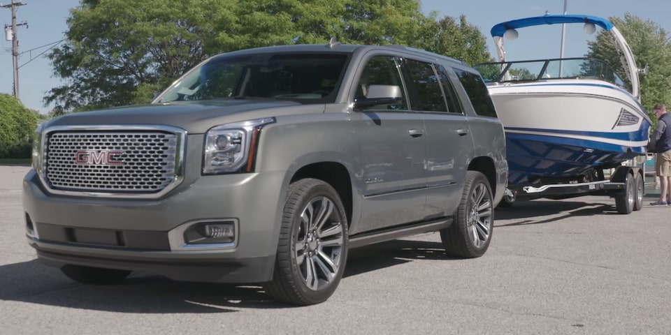 Video of GMC Yukon Trailering a Boat
