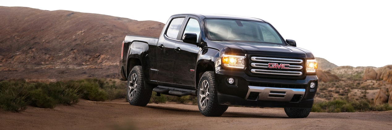 GMC life canyon denali and all terrain x.