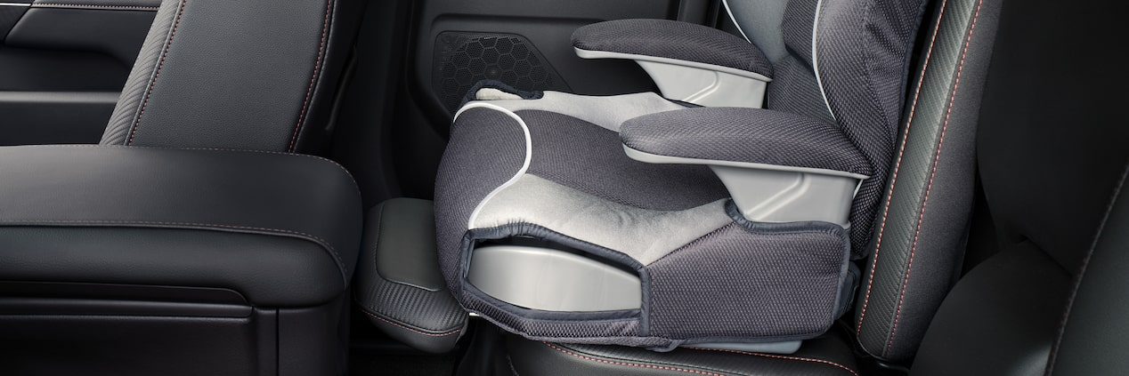 GMC life canyon family friendly seat.