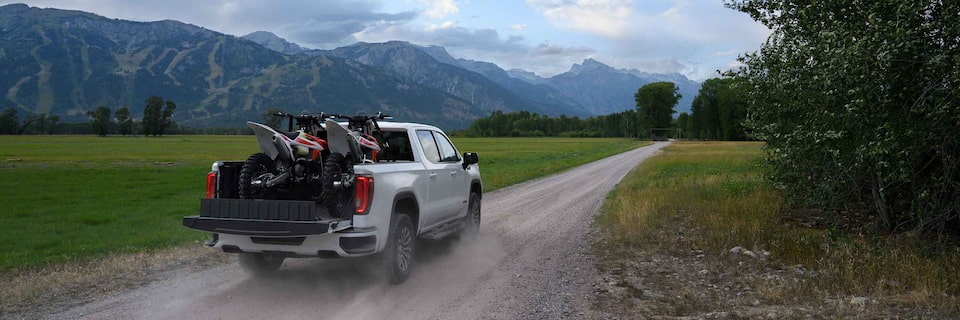 2020 GMC Sierra AT4 CarbonPro Off-road Truck Hauling Bikes