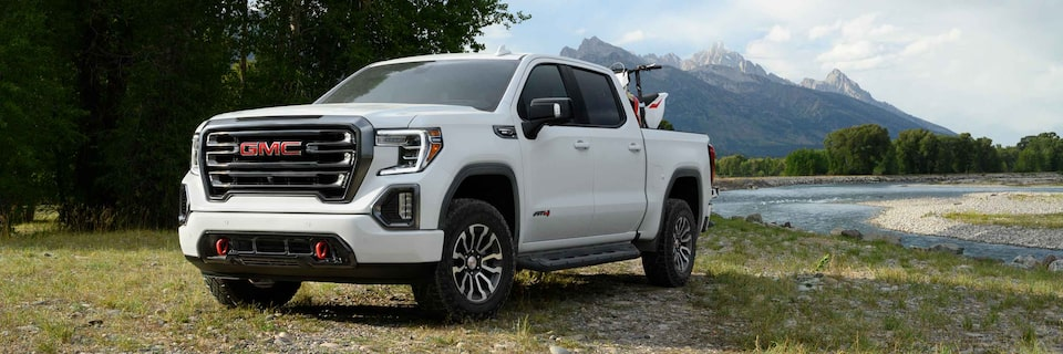 2020 GMC Sierra AT4 CarbonPro Off-road Full-size Truck Exterior Front Side View