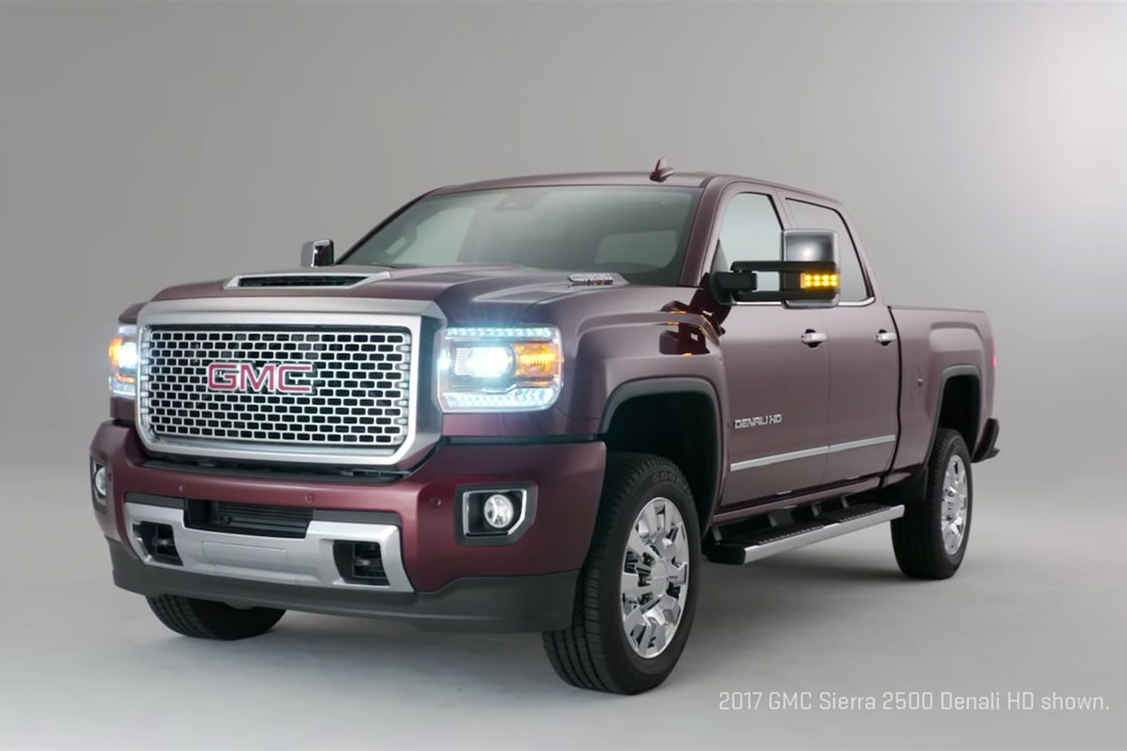 GMC life hd new duramax diesel precision engineering.