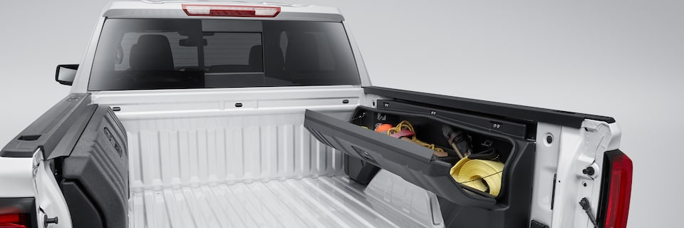 GMC Sierra 1500 Side-Mounted Storage Box Kit Overview