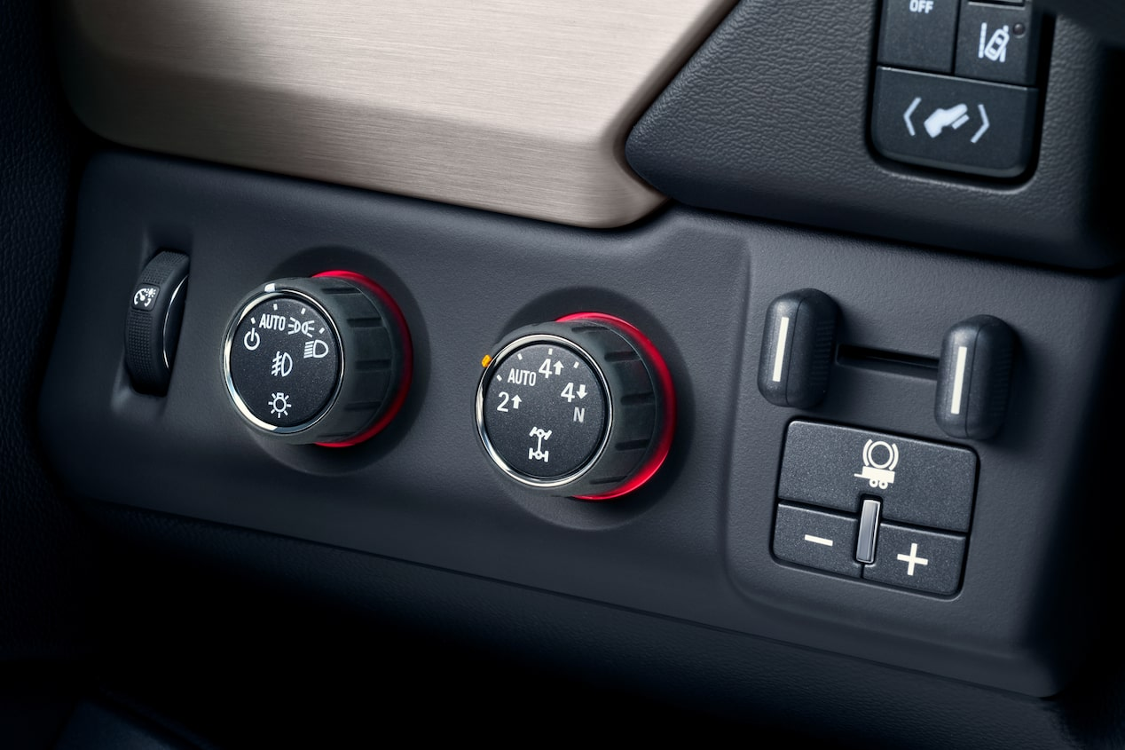 GMC life how and when to use 4WD knobs.