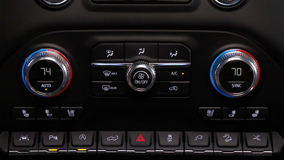 How To Use Your Gmc Vehicle S Climate Controls Gmc Life