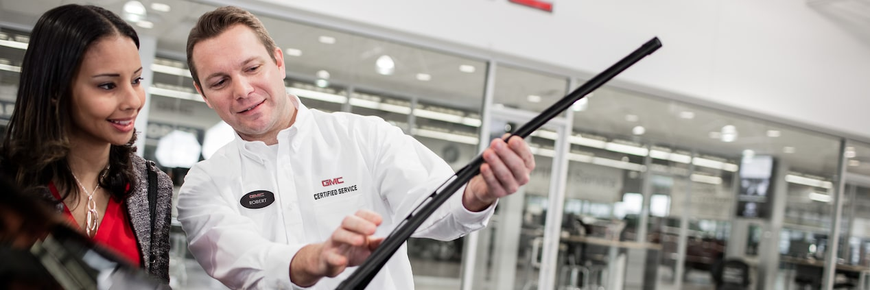 GMC life wiper blades replacement article.
