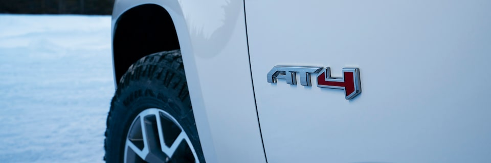 2021 GMC Canyon AT4 Off-Road Truck Side Profile