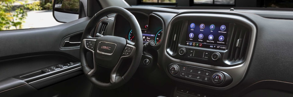 2021 GMC Canyon AT4 Off-Road Truck Front Interior Dashboard