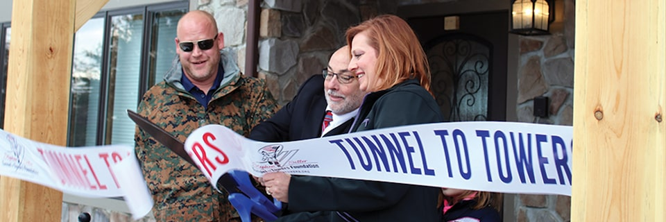 GMC Life: Ribbon Cutting Event for Tunnel to Towers Foundation