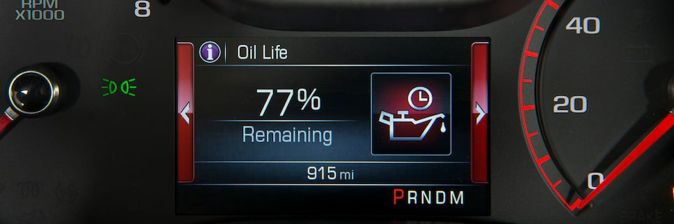 How To Use Your Gmc Oil Life Monitor Gmc Life