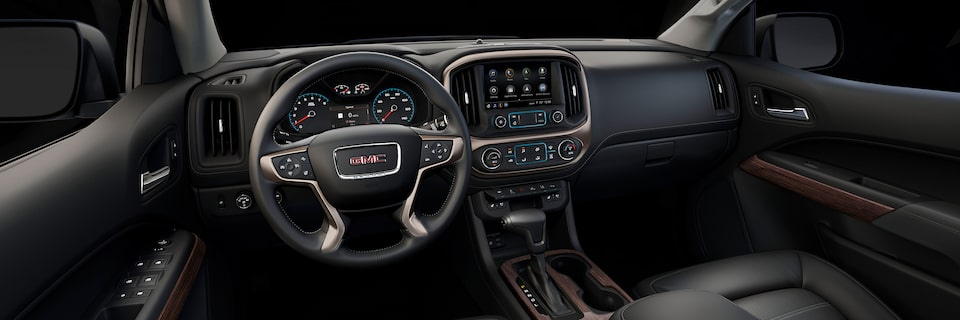 GMC Canyon Denali Premium Interior Cabin Space