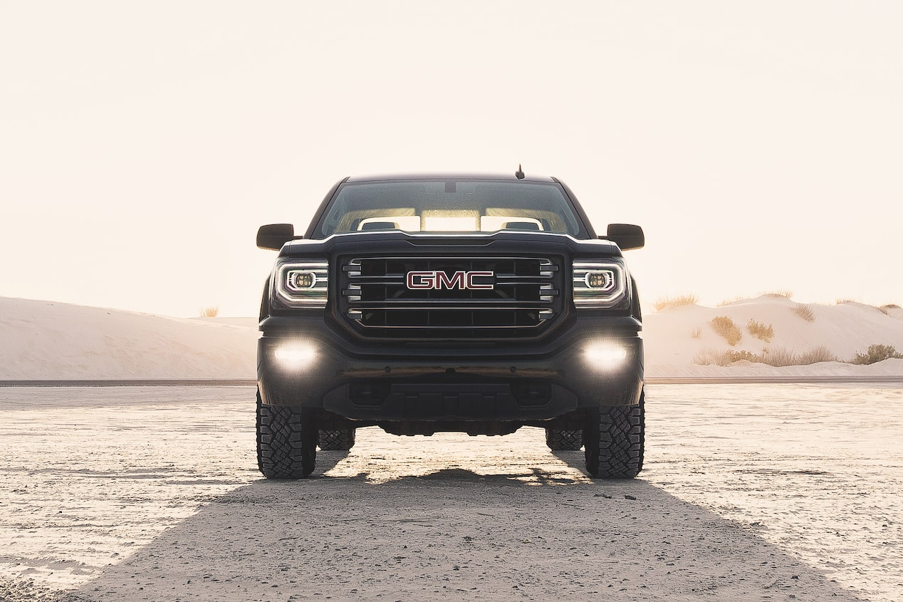 GMC life sierra 1500 all terrain fog lights.