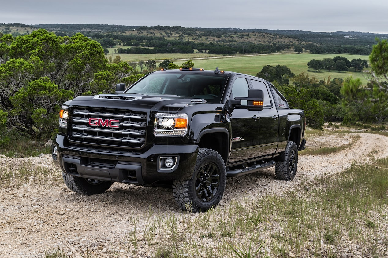introducing the 2017 sierra hd all terrain x gmc life. Black Bedroom Furniture Sets. Home Design Ideas