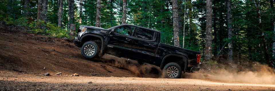 GMC Sierra Full-Size Pickup Truck AT4 Off-Road Package