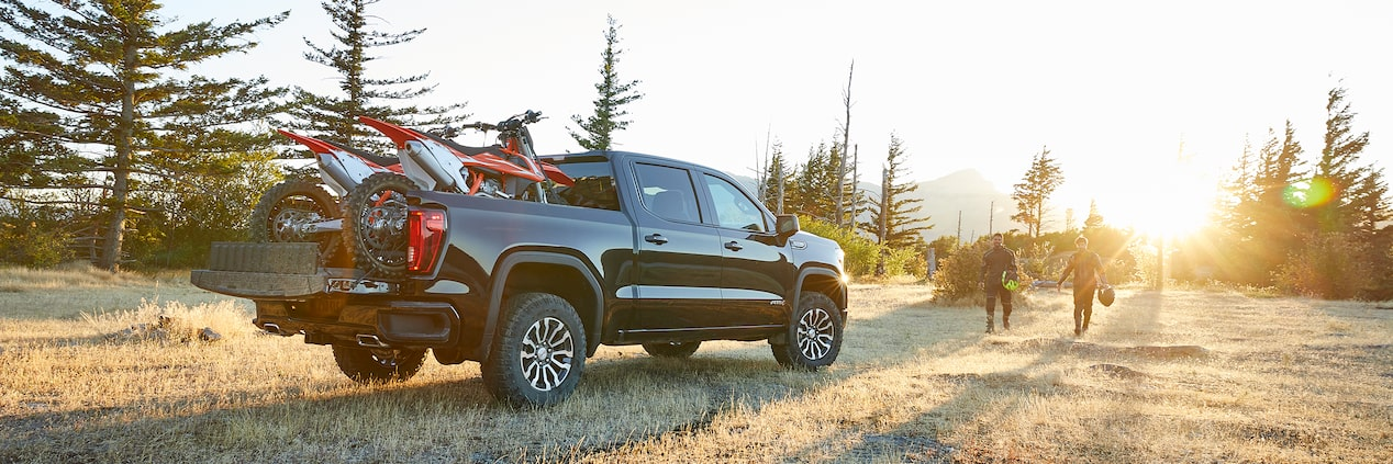 GMC Sierra Full-Size Pickup Truck AT4 Off-Road Package Cargo Box