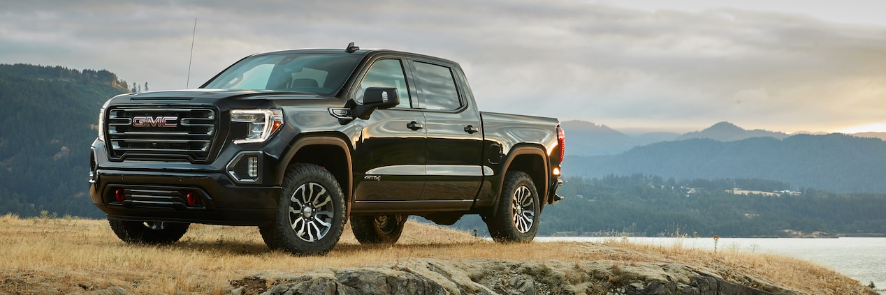 GMC Sierra Full-Size Pickup Truck AT4 Off-Road Package Side Exterior