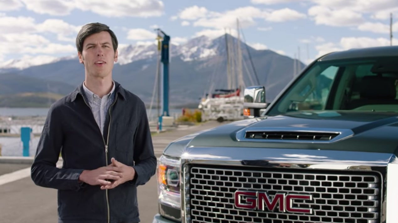 GMC life sierra denali hd engineering exterior.