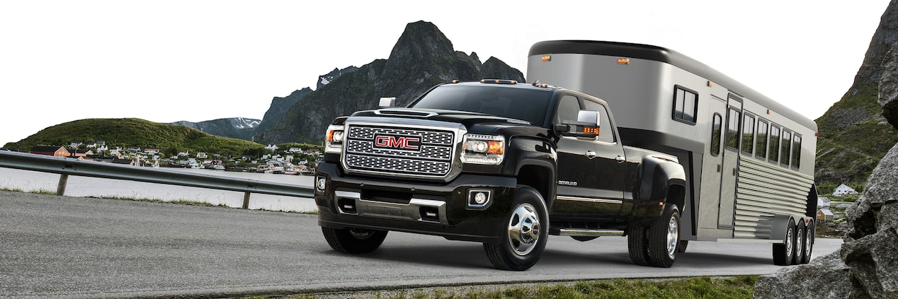 GMC life sierra hd 5th wheel package.