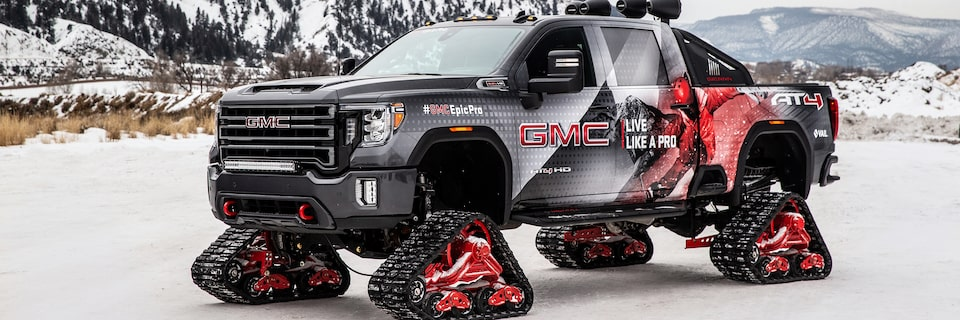 GMC Sierra AT4 All Mountain Edition with Mattracks