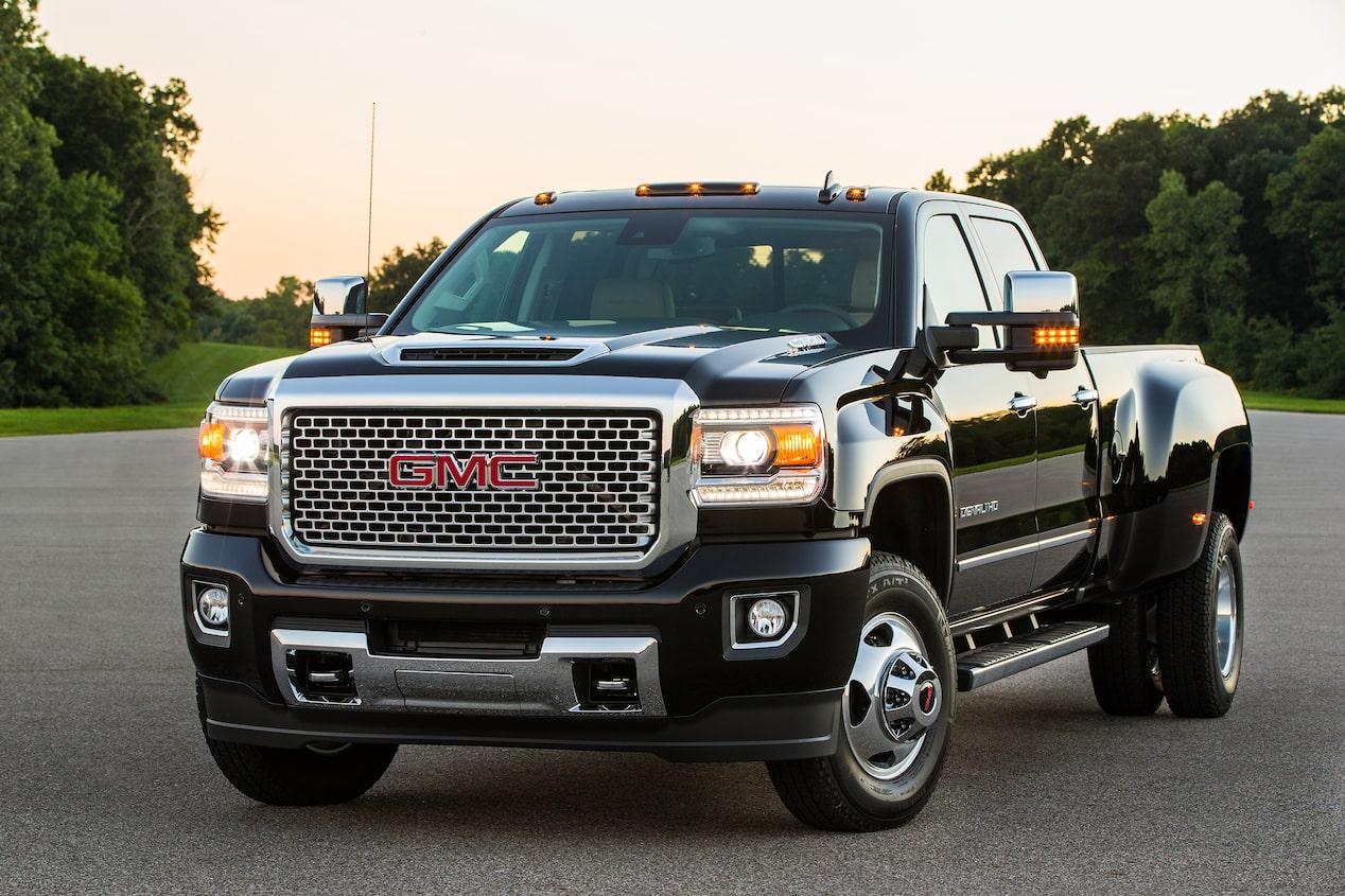 2017 Gmc Sierra Hd Powerful Diesel Heavy Duty Pickup Trucks