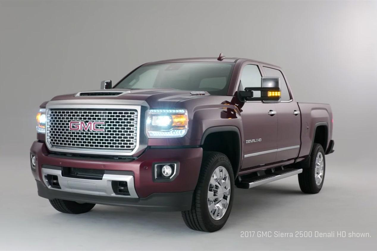 2017 GMC Sierra HD – Powerful Diesel Heavy Duty Pickup Trucks